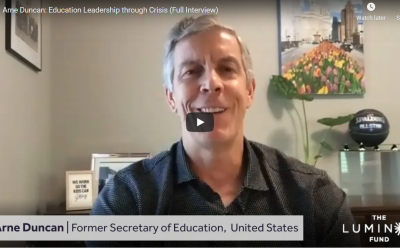 Education Interviews – Arne Duncan