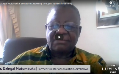 Education Interviews – Dzingai Mutumbuka