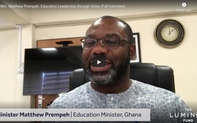 Education Interviews – Matthew Prempeh